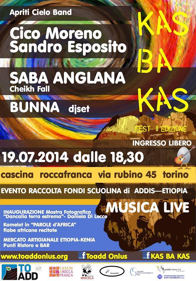 kasbaka2 festival musicale a Torino